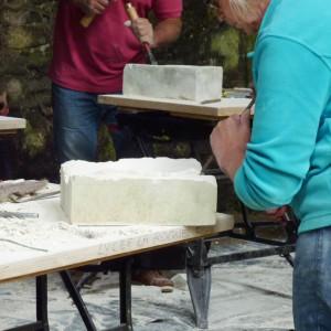 Atelier : Taille de pierre et sculptures