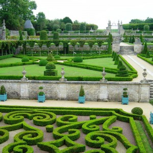 Jardins du Château de Brécy