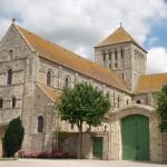 Abbaye de Lessay vue