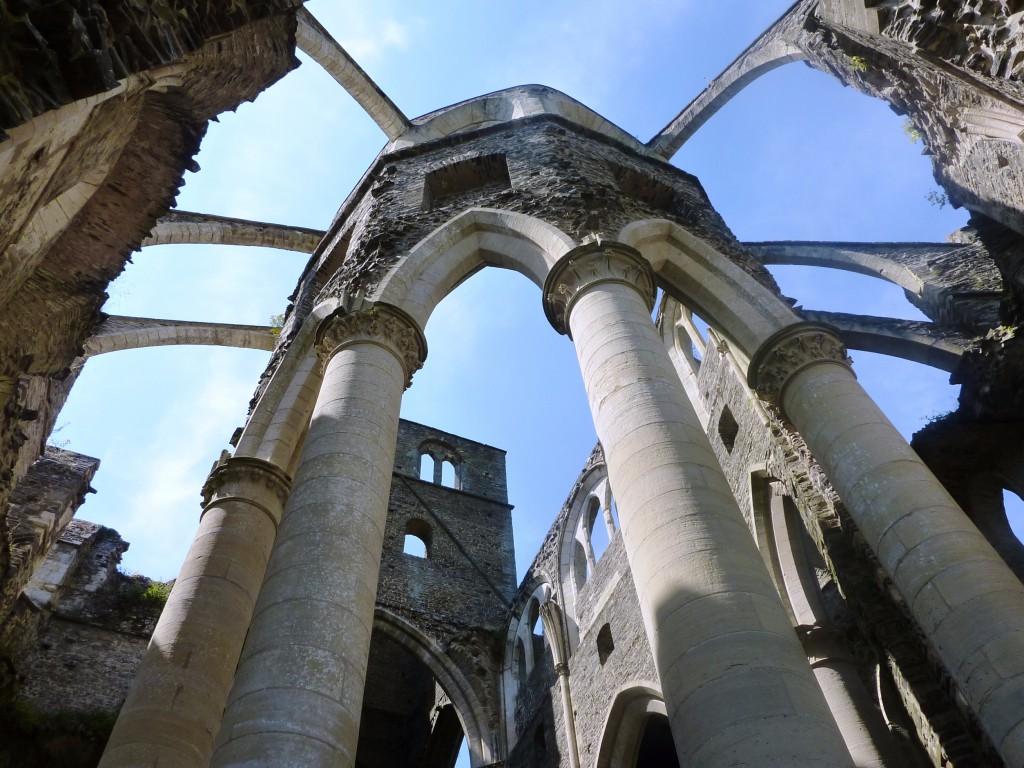 Abbaye de Hambye (50) cloitre