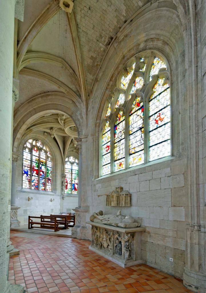 Abbaye Notre Dame du pré Valmont nef