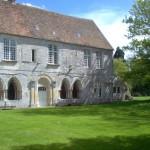 abbaye de Bonport Jardin et Batisse