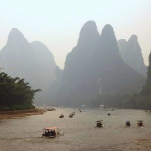 Contes chinois « Remonter la rivière » par Domitille Germain